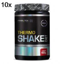 Kit 10X Thermo Shake Diet - 400g Morango - Probiótica