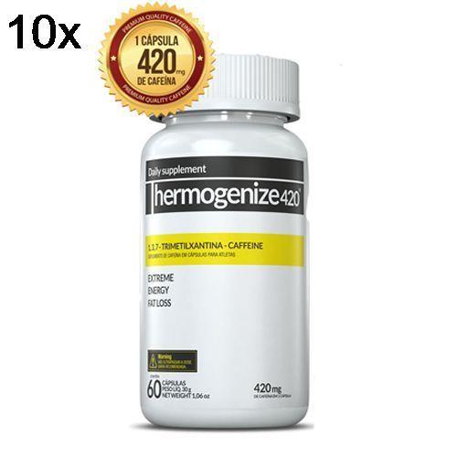 Kit 10X Thermogenize420 - 60 Cápsulas - Inove Nutrition no Atacado