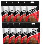 Kit 10X Whey Isolate Definition - 1800g Refil Chocolate - BodyAction no Atacado