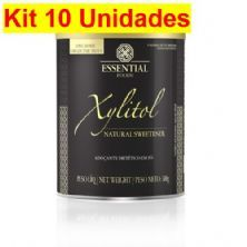 Kit 10X Xylitol - 300g - Essential Nutrition