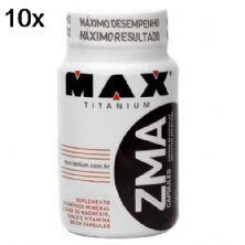 Kit 10X ZMA - 90 Cápsulas - Max Titanium