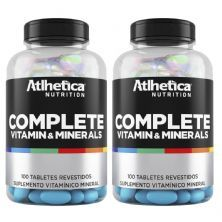 Kit 2 Complete Multi-Vit - 100 Tabletes - Atlhetica Nutrition