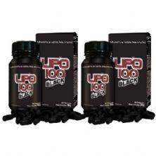 Kit 2  Lipo 100 Black - 60 Cápsulas - Intlab