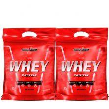 Kit 2 Nutri Whey Protein - Refil Baunilha 907g - Integralmédica
