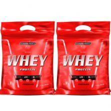 Kit 2 Nutri Whey Protein - Refil Chocolate 907g - Integralmédica