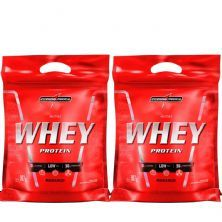 Kit 2 Nutri Whey Protein - Refil Morango 907g - Integralmédica