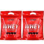 Kit 2 Nutri Whey Protein - Refil Morango 907g - Integralmédica no Atacado
