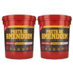 Kit 2 Pasta Amendoim Integral - 1000g - BodyAction