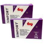 Kit 2 - Simfort - Cx 30 Sachês - Vitafor