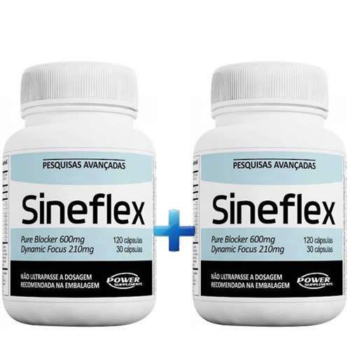 Kit 2 - Sineflex 150 Cápsulas - Power Supplements
