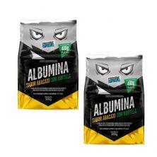 Kit 2X Albumina - 500g Abacaxi com Hortelã - Proteína Pura