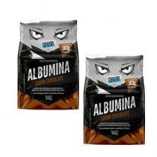Kit 2X Albumina - 500g Chocolate - Proteína Pura
