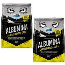 Kit 2X Albumina - 500g Limonada Suiça - Proteína Pura