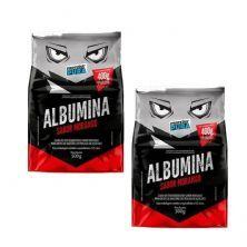 Kit 2X Albumina - 500g Morango - Proteína Pura