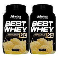 Kit 2X Best Whey Iso - 900g Maracujá - Atlhetica Nutrition