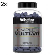 Kit 2X Complete Multi-Vit - 100 Tabletes - Atlhetica Nutrition