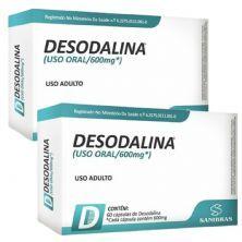 Kit 2X Desodalina - 60 Cápsulas - Sanibras