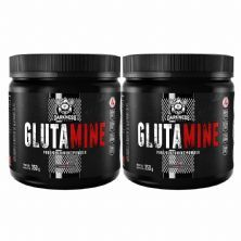 Kit 2X Glutamine Darkness - 350g - IntegralMédica