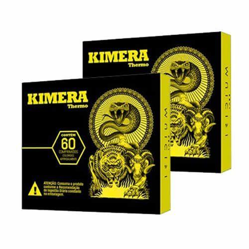 Kit 2 Kimera Thermo - 60 comprimidos - Iridium Labs
