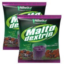 Kit 2X Maltodextrin - 1000g Guaraná c/ Açaí - Atlhetica Nutrition