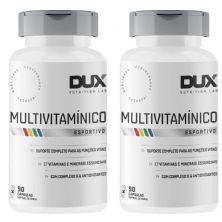 Kit 2X Multivitamínico Esportivo - 90 Cápsulas Softgel - Dux Nutrition