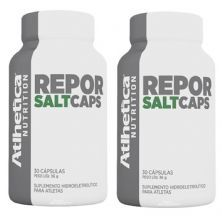 Kit 2x Repor Salt Caps Endurance Series - 30 Cápsulas - Atlhetica Nutrition