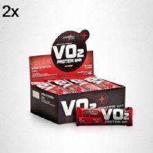 Kit 2X VO2 PROTEIN BAR - 24 Unidades 30g Chocolate - IntegralMédica