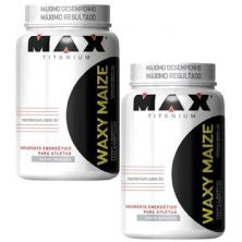 Kit 2X Waxy Maize - 1000g Natural - Max Titanium