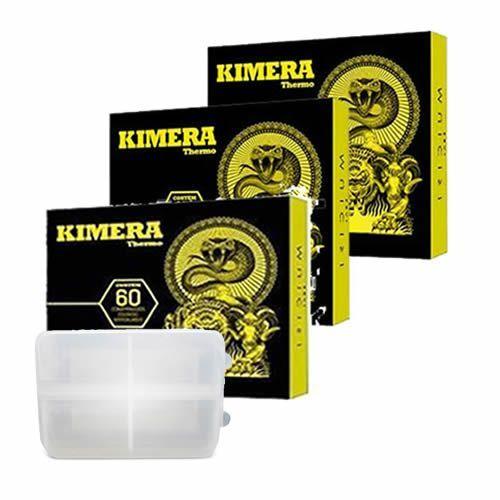 Kit 3 Kimera 60 comprimidos + Porta Cápsulas Integralmédica no Atacado