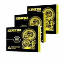 Kit 3 Kimera Thermo - 60 comprimidos - Iridium Labs