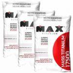 Kit 3 Mass 17500 - 3000g Baunilha - Max Titanium