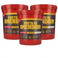 Kit 3 Pasta Amendoim Integral - 1000g - BodyAction