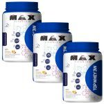 Kit 3 - Top Whey 3W - 900g Vit.frutas - Max Titanium no Atacado