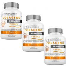Kit 3X Colágeno Verisol Premium - 60 Cápsulas - Nutrends