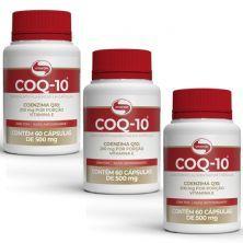 Kit 3X COQ-10 - 60 Cápsulas - Vitafor