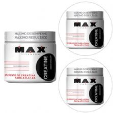 Kit 3x Creatina - 300g - Max Titanium