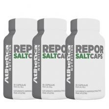 Kit 3x Repor Salt Caps Endurance Series - 30 Cápsulas - Atlhetica Nutrition