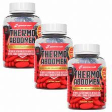 Kit 3X Thermo Abdomen - 60 Tabletes - BodyAction