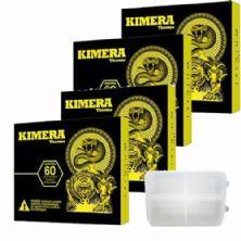 Kit 4 Kimera 60 comprimidos + Porta Cápsulas Integralmédica