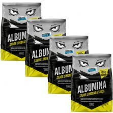 Kit 4X Albumina - 500g Limonada Suíça - Proteína Pura
