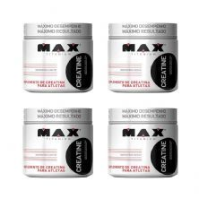 Kit 4X Creatine - 300g - Max Titanium