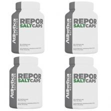 Kit 4x Repor Salt Caps Endurance Series - 30 Cápsulas - Atlhetica Nutrition