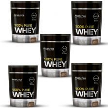 Kit 5 100% Pure Whey - 825g Refil Chocolate - Probiotica