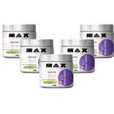 Kit 5 BCAA 4:1:1 - 280g Drink Limão - Max Titanium