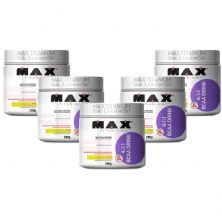Kit 5 BCAA 4:1:1 - 280g Drink Maracujá - Max Titanium