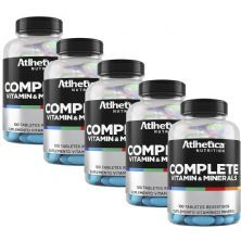 Kit 5 Complete Multi-Vit - 100 Tabletes - Atlhetica Nutrition