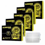 Kit 5 Kimera 60 comprimidos + Porta Cápsulas Integralmédica
