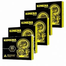 Kit 5 Kimera Thermo - 60 comprimidos - Iridium Labs