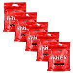Kit 5 Nutri Whey Protein - 907g Refil Chocolate - IntegralMédica no Atacado