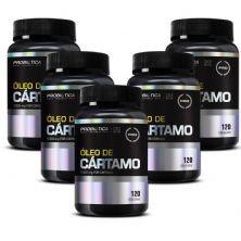 Kit 5 Óleo de Cártamo - 120 Cápsulas - Probiótica